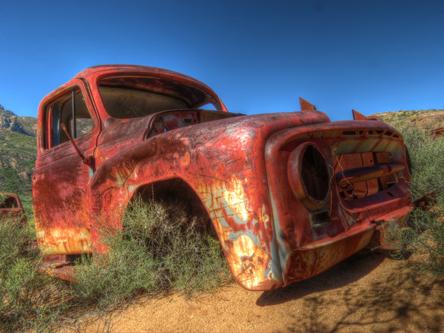Namaqualand car graveyard